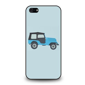 STILES STILINSKI JEEP TEEN WOLF iPhone 5 / 5S / SE Case Cover