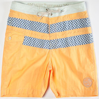 Vans Hughes Mens Boardshorts Orange  In Sizes
