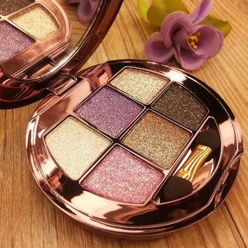 6 Color Makeup Diamond Bright Palette Eye Shadow