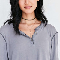 Truly Madly Deeply Henley Tissue Tee - Urban Outfitters