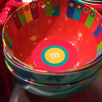 M&M's World Salad Bowl New