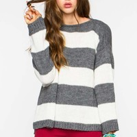 Sage Striped Sweater