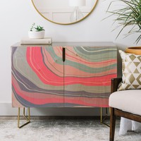 Agate Inspired Abstract 02 Credenza Viviana Gonzalez