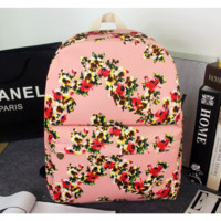 Casual Korean Canvas Backpack = 4887951428