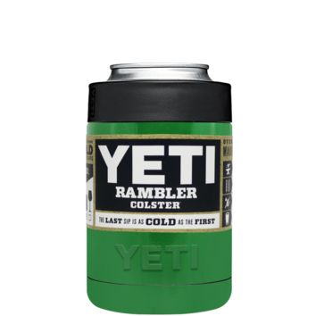 Custom YETI Colster Kelly Green Design Your Own Bottle & Can Cooler