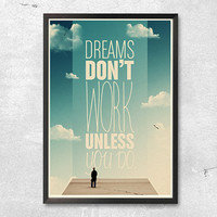 Dreams A3 Print 4 of 5 by t87store on Etsy