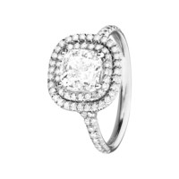 Diamond Ring Miami white gold | Diamond Rings RenéSim