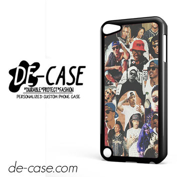 August Alsina College DEAL-1136 Apple Phonecase Cover For Ipod Touch 5