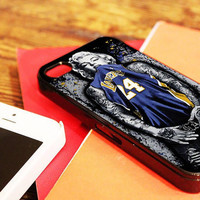 """Marilyn Monroe La Lakers - for iPhone 4 / 4s case, iPhone 5 case - Black / White. """" Option please """""""