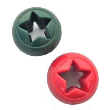 Planet Dog Orbee-Tuff Nook Dog Toy: Holiday Star