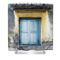 The Blue Window 2 Shower Curtain for Sale by Ivy Ho