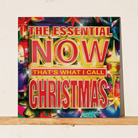 Various Artists - The Essential NOW Thats What I Call Christmas LP - Urban Outfitters