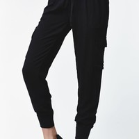 Nollie Cargo Jogger Pants - Womens Pants - Black