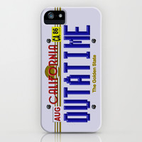 Back to the future California License Plat apple iPhone 3, 4 4s, 5 5s 5c, iPod & samsung galaxy s4 case