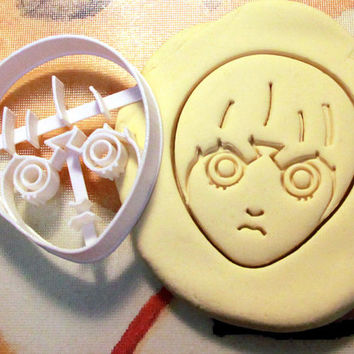Naruto Rock Lee Cookie Cutter - Made from Biodegradable Material