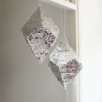 Geometric Crystal Pinata  Glam Bling Wedding by owithdoubledots