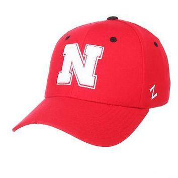 Licensed Nebraska Cornhuskers NCAA DH Size 6 7/8 Fitted Hat Cap by Zephyr 629543 KO_19_1