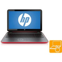 "Walmart: HP Twinkle Black/Vibrant Red 15.6"" Pavilion Beats Special Edition 15-p030nr Laptop PC with AMD A8-5545M Quad-Core Processor, 8GB Memory, 1TB Hard Drive, Touchscreen and Windows 8.1"