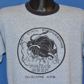 80s 514th Civil Engineering Prime Beef McGuire AFB Large