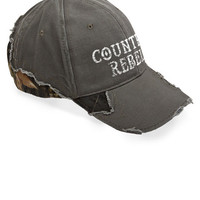 Women's Country Girl® Country Rebel Frayed Camo Cap