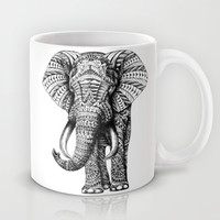 Ornate Elephant Mug by BioWorkZ