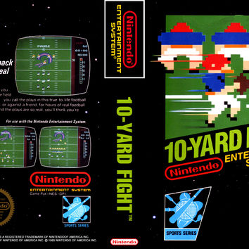 10-Yard Fight - Nintendo NES (Game Only)