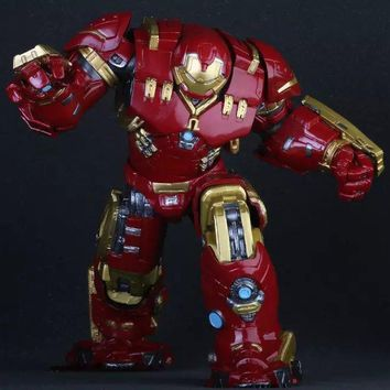 Marvel Avengers Hulkbuster 25cm Ironman Super Hero PVC Action Figure Collectible Model Toys