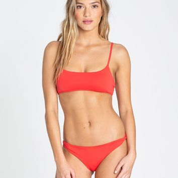 Sol Searcher Mini Crop Bralette Bikini Top