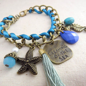 Dreaming of the Sea Charm Bracelet