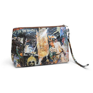 Star Wars Vintage Poster Collage Wristlet