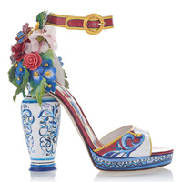 Embellished Patent-Leather Sandals | Moda Operandi