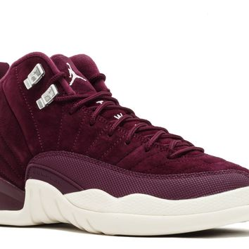 AIR JORDAN 12 RETRO BG (GS) 'BORDEAUX' - 153265-617