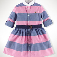 Rugby Oxford Shirtdress