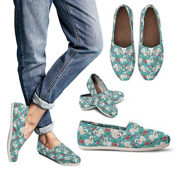 Havanese Flower Casual Shoes