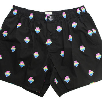 Pink Dolphin Men's Classic Boxer Shorts Underwear