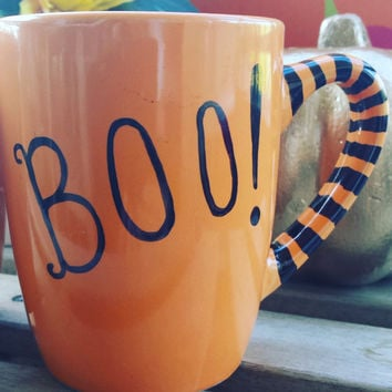 Halloween coffee cup or tea mug favor gifts