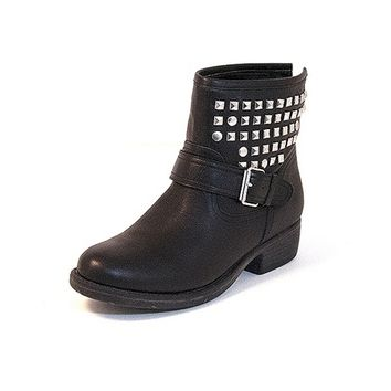 Steve Madden Outtlaww - Black Leather