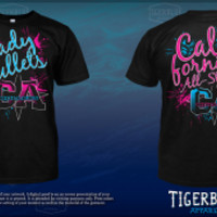 Lady Bullets T-Shirt - California All Stars