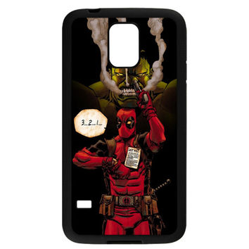 Deadpool & The Hulk TPU Bumper for Samsung Galaxy S5