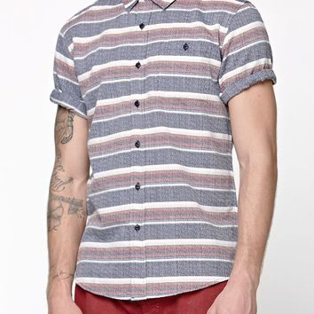Ezekiel Hank Short Sleeve Woven Shirt - Mens Shirts - Multi Color