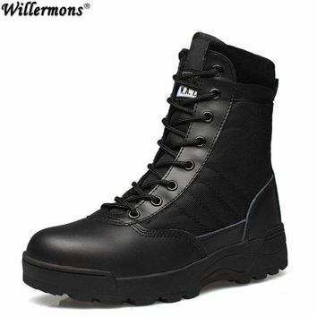 Men's Winter Army-style Snow Boots
