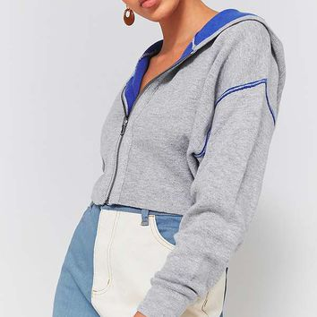 Silence + Noise Dolman Sleeve Cropped Hoodie | Urban Outfitters
