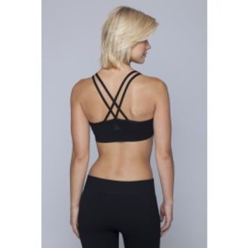 Spring Bra-BLACK - Tops - WOMEN