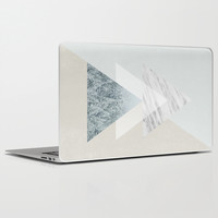 Snow into the forest Laptop & iPad Skin by Cafelab