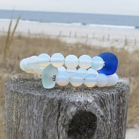 Unbroken Bracelet by Wave of Life Sea Glass Water Beads
