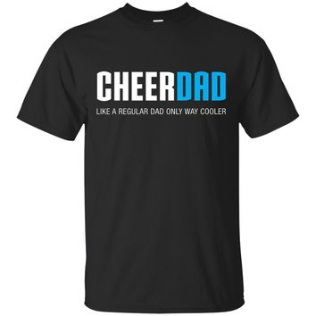 Mens Cheer Dad Shirt, Funny Cute Father's Day Gift