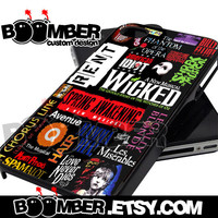 Broadway Musical Collage - iPhone 4/4s/5/5s/5c Case - Samsung Galaxy S2 i9100/S3 i9300/S4 i9500 Case