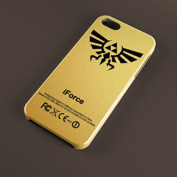 Golden-Zelda-Triforce-iForce for all phone device