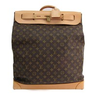 Louis Vuitton Monogram Steamer Bag M41126 Women's Boston Bag Monogram BF319915