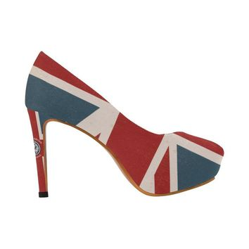 NFA The Original Union Jack High Heels